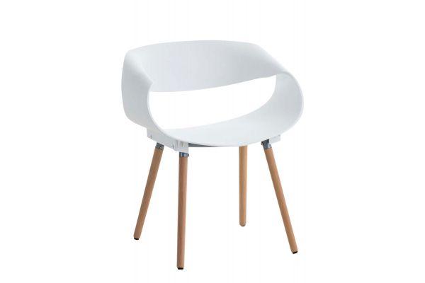 Stuhl Tuva weiß